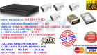 DIY KITS (PACKAGE H) 8 CHANNEL@1080P@2.4 MEGAPIXELS