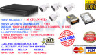 DIY KITS (PACKAGE I) 16 CHANNEL@1080P@2.4 MEGAPIXELS