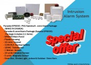 Paradox SP6000 – PKG Spectra 8 – zone Alarm Package