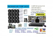 DIY KIT (16 Channel 720P Camera Package)