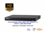 XVR4104/08/16HS HDCVI DIGITAL VIDEO RECORDER